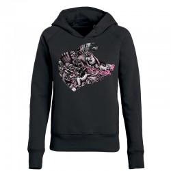 BLOODY HELL! »PORK« ladies hoodie