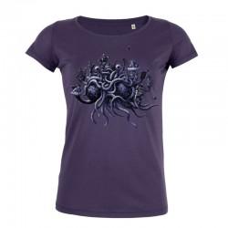 CREDO, QUIA ABSURDUM EST ladies t-shirt