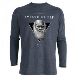 EVOLVE OR DIE men's longsleeve