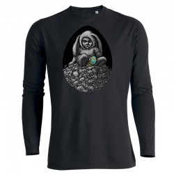 DAY-OLD CHICK men's longsleeve